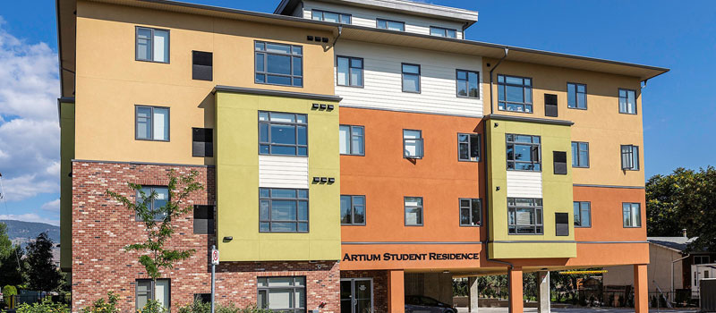 great location student housing Kelowna BC